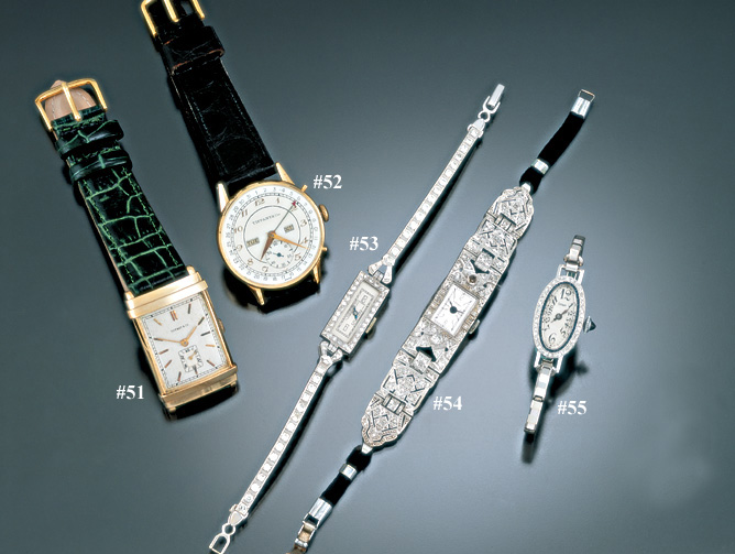 TIFFANY WRISTWATCH